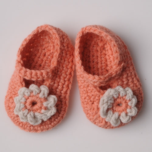 Mrs Moon Baby Booties - Crochet