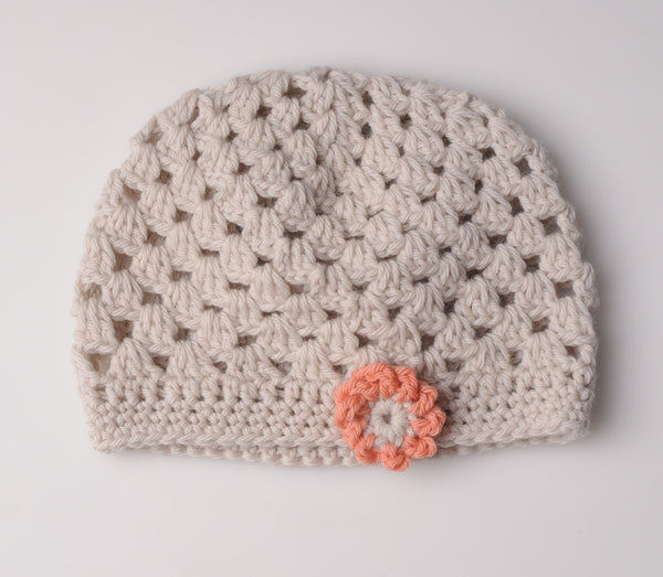 Mrs Moon Flower Hat - Crochet - The Knitter's Yarn