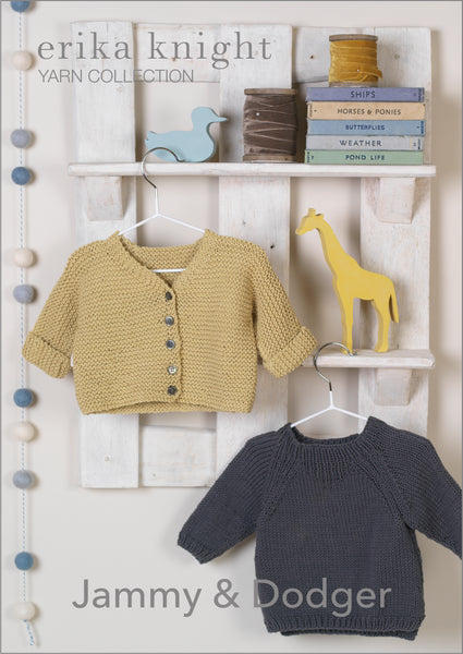 Erika Knight Jammy & Dodger PDF Download - The Knitter's Yarn