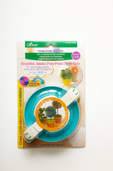 Clover Jumbo Pom-Pom Maker - The Knitter's Yarn