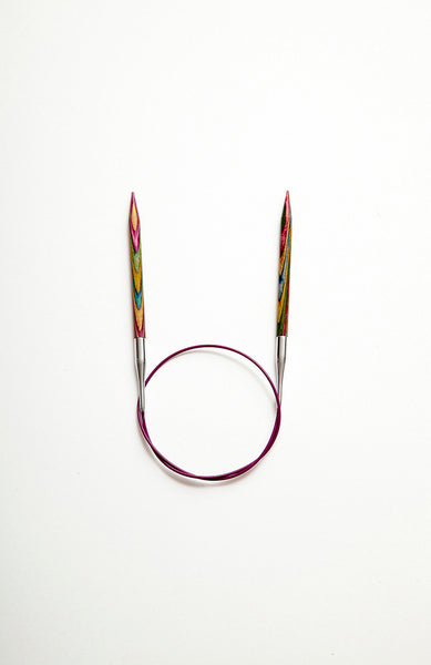 KnitPro Symfonie Fixed Circular Needles 80cm - The Knitter's Yarn