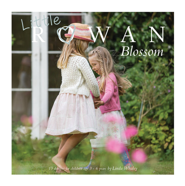 A pattern book with 15 beautiful knitting projects for girls aged 2 - 7.