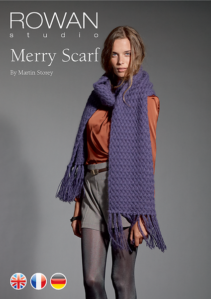 Merry Scarf FREE PDF Download - The Knitter's Yarn