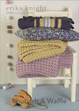 Two easy crochet blanket projects designed by Erika Knight for her Gossypium cotton yarn.