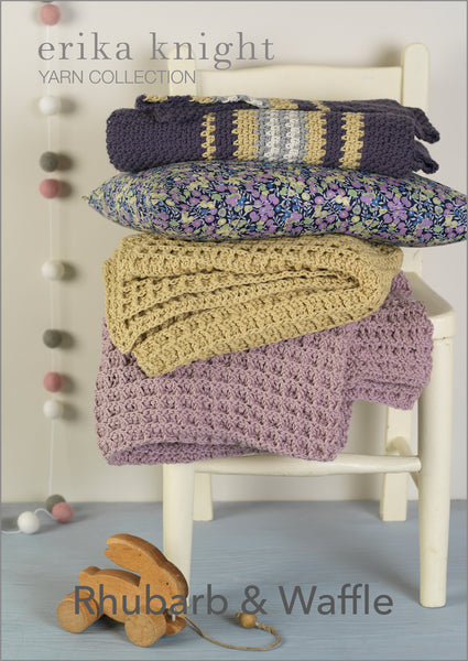 Erika Knight Rhubarb & Waffle PDF Download - The Knitter's Yarn
