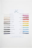 The Knitter's Yarn Swatch Card - The Knitter's Yarn
