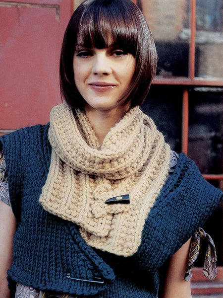 Rowan Vanilla Scarf FREE PDF Download - The Knitter's Yarn
