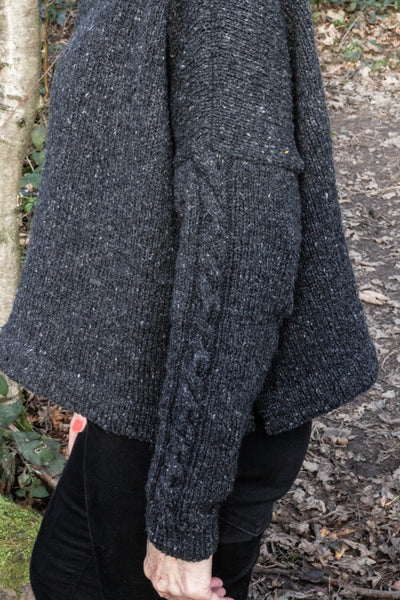 Lyra Sweater designed by The Knitter's Yarn