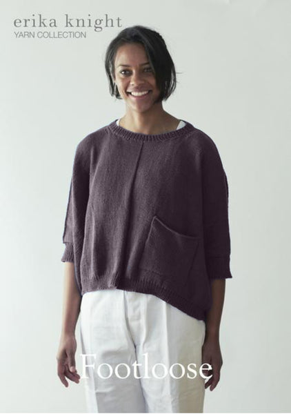 Erika Knight 'Footloose' Sweatshirt Knitting Kit - The Knitter's Yarn