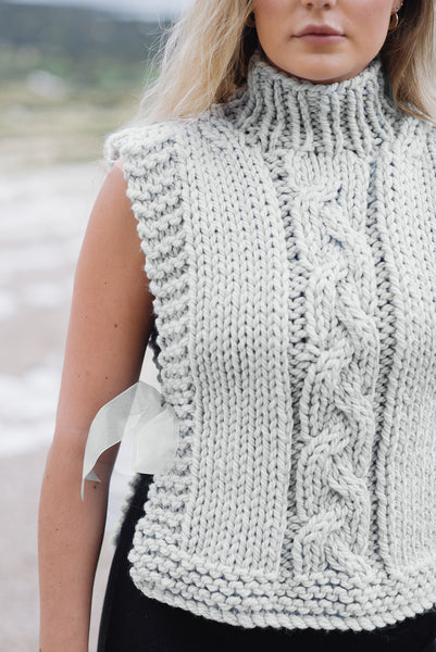 Whimbrel Cable Tabard - The Knitter's Yarn