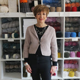 Jampa cardigan by Marie Wallin available in a kit from The Knitter's Yarn