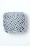 Ribbed wrap in Puddle available from The Knitter's Yarn