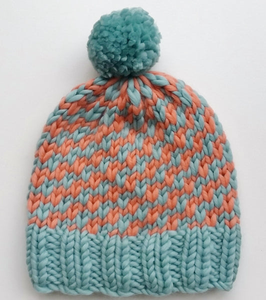 Mrs Moon Slip Stitch Hat