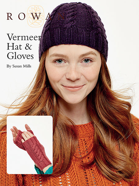 Rowan Vermeer Hat & Gloves FREE PDF Download