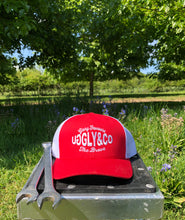 "Red Uggly&Co ""Glory Favours the Brave"" Truckers Cap"