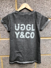 Mens's Grey Uggly&Co Oval T-Shirt