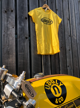 Yellow Uggly&Co Classic Oval T-Shirt