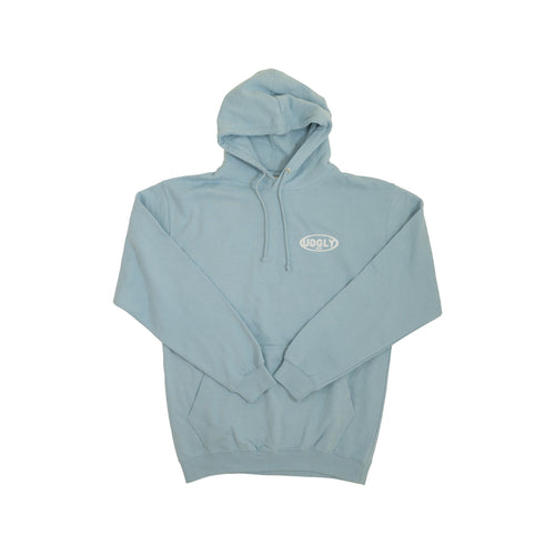 Uggly&Co Sky Blue Hoodie 'Why Blend in' Collection