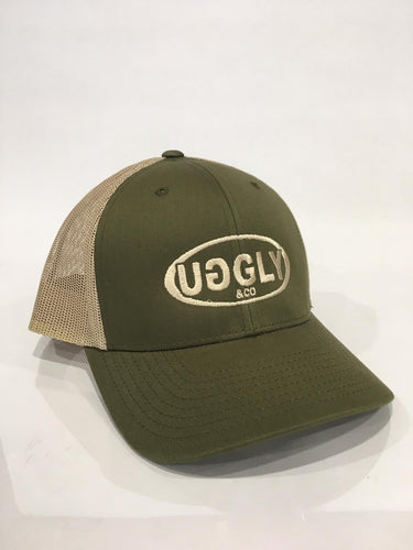 Moss Green Uggly&Co - Truckers Cap