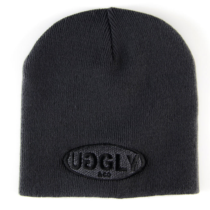 CLASSIC UGGLY AND CO BEANIE - GRAPHITE GREY