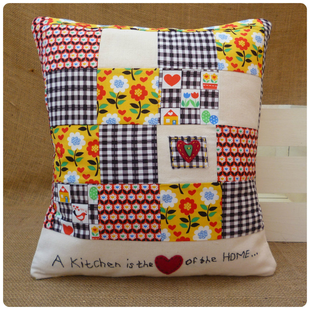 A Kitchen is the Heart of the Home Cushion Cover