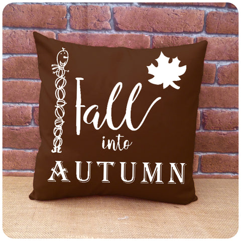 Autumn Pumpkin Man Cushion