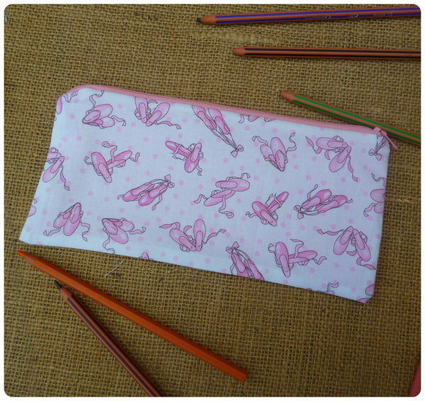 Ballet Shoes Pencil Case (Can be Personalised)