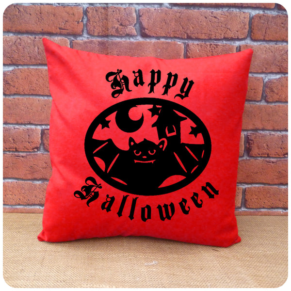 Bat Halloween Cushion