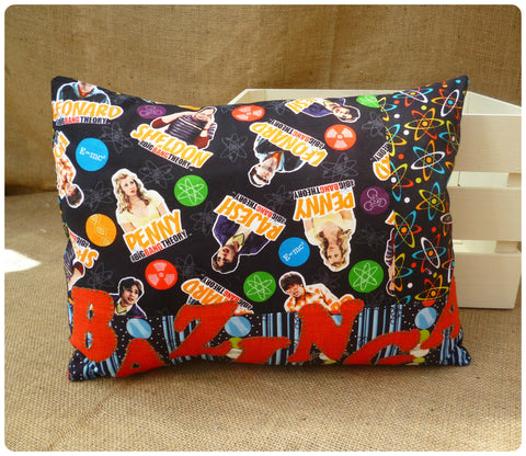 Big Bang Theory Bazinga Cushion