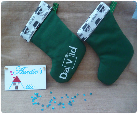 Breaking Bad Inspired Christmas Stocking