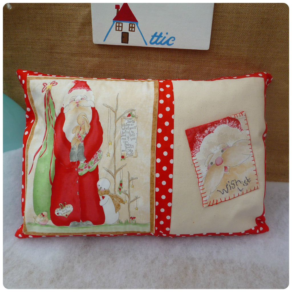 Christmas Wish List Cushion