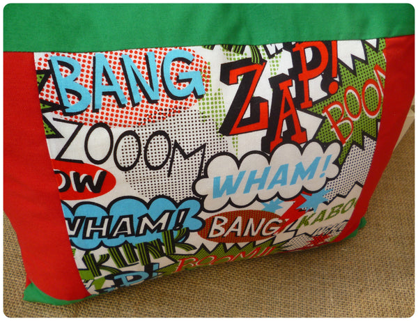 Comic Book Cushion