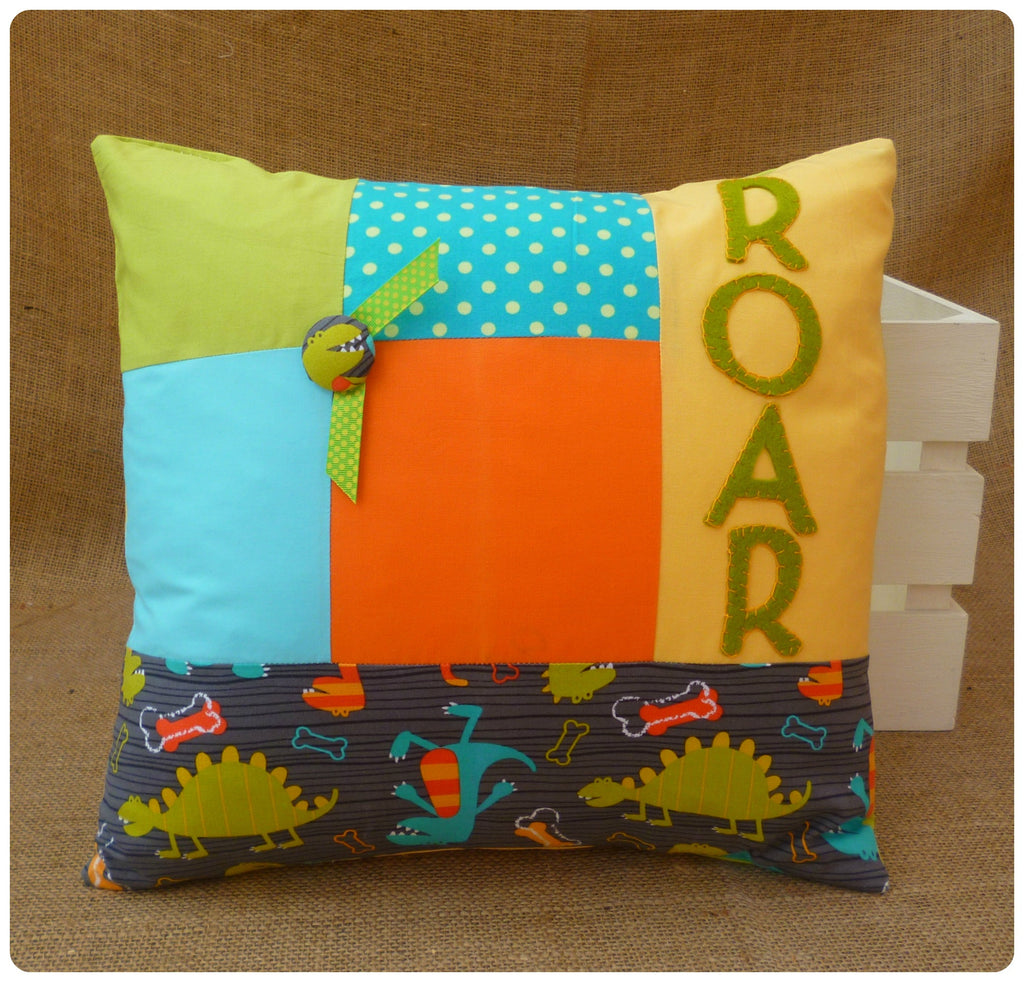 Dinosaur Roar Cushion