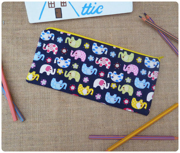 Elephant Pencil Case (Can be Personalised)