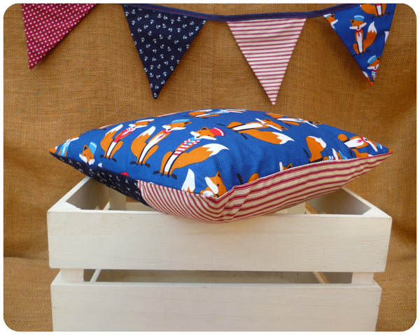 Fox Nursery Set - Cushion, Bunting and Fatty Owl Fernando
