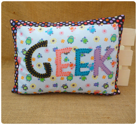 Geek Owl Cushion