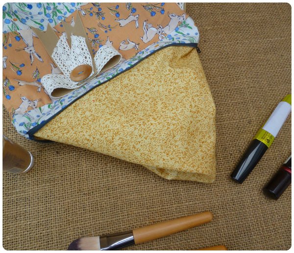 Hares Make Up Bag