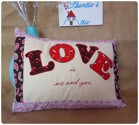 Love is... Me and You Cushion