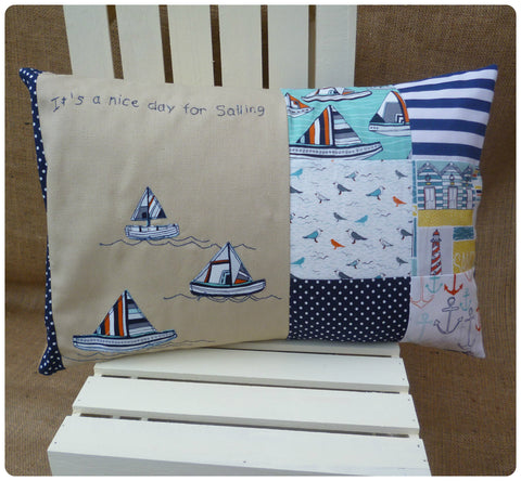 Nautical Sailing Cushion