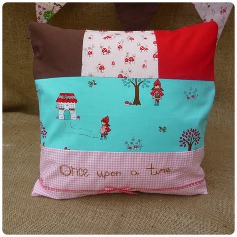 Once Upon a Time Red Riding Hood Cushion
