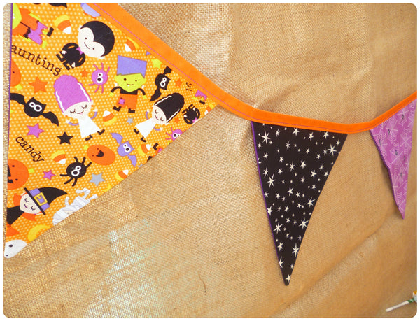 Halloween Bunting (Orange Parade)