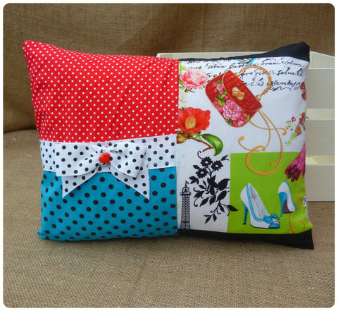 Paris Bow Cushion
