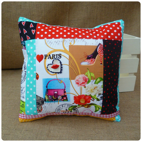 Vintage Paris Cushion