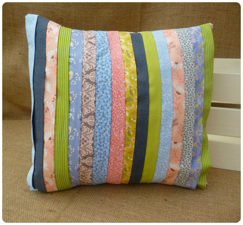 Pastel Strips Cushion