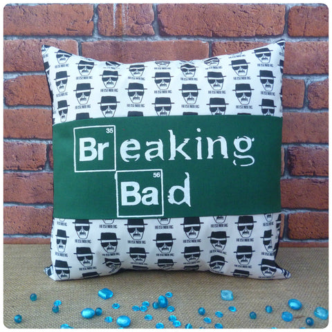 Breaking Bad Inspired Personalised Heisenberg Cushion