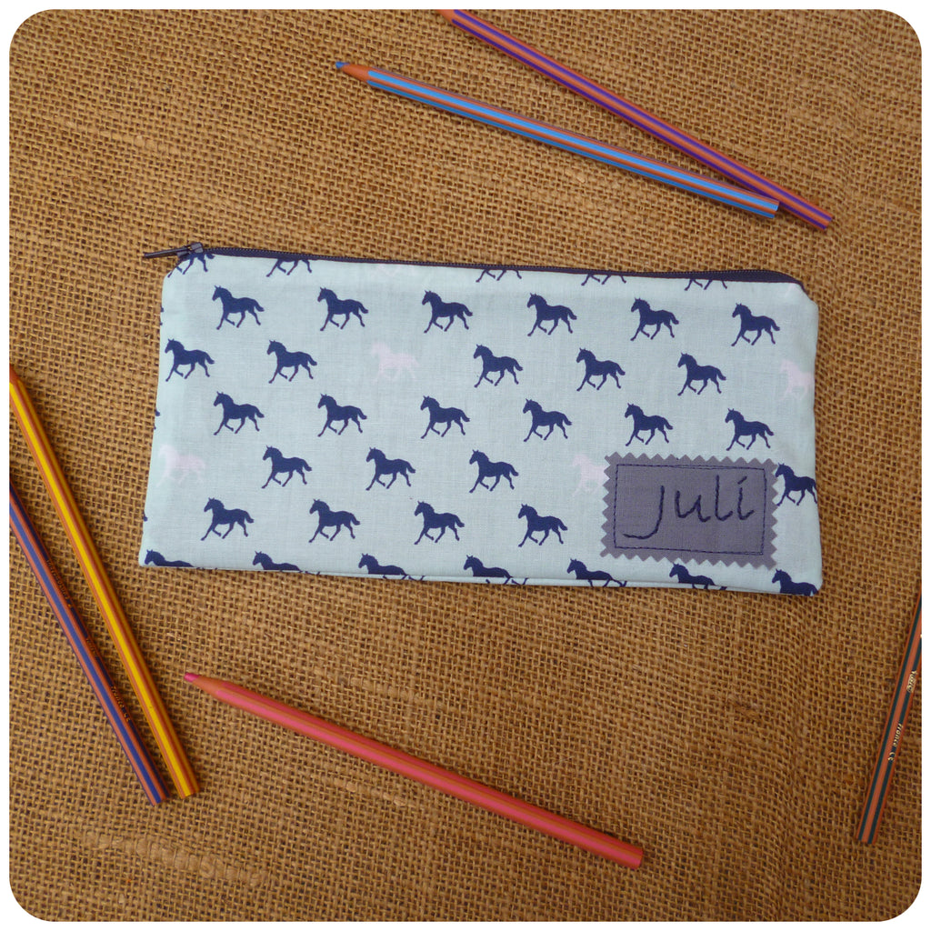 Horse Pencil Case (Can be Personalised)