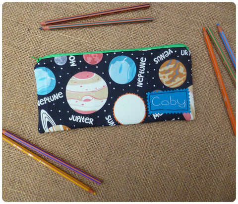Planets Pencil Case (Glow in the Dark)
