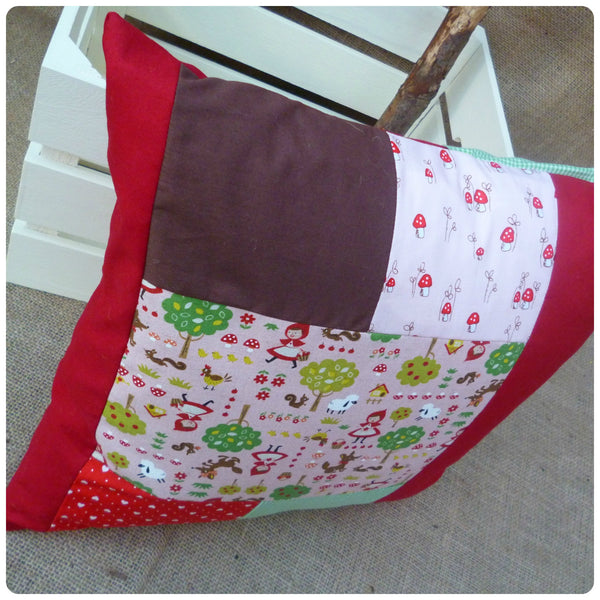 Red Riding Hood Cushion (Can be Personalised)