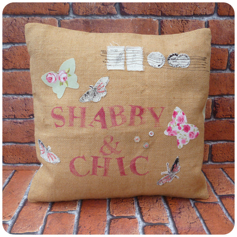 Shabby and Chic Cushion