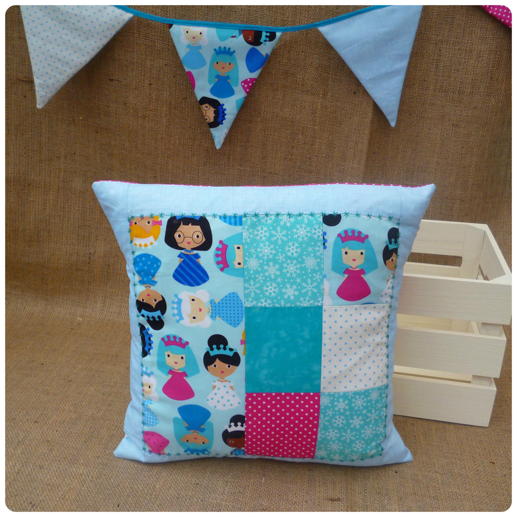 Snow Princess Cushion